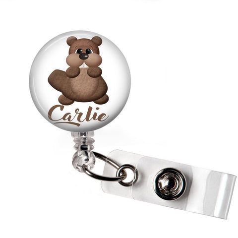 Chipmunk | Badge Reel | Badges and Buttons Club