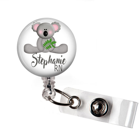 Koala | Badge Reel | Badges and Buttons Club