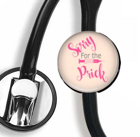 Interchangeable Stethoscope ID Tag, Nurse Stethoscope ID tag, SNS028 | Badges and Buttons Club