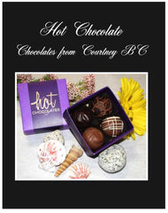 4 piece truffles Hot Chocolate