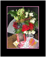 Loves Flowers and Chocolates Bouquet