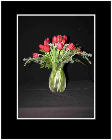Christmas Tulips Bouquet