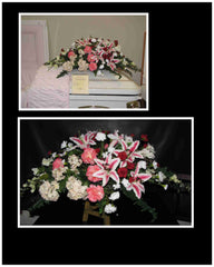 Farewell Tribute Casket Spray