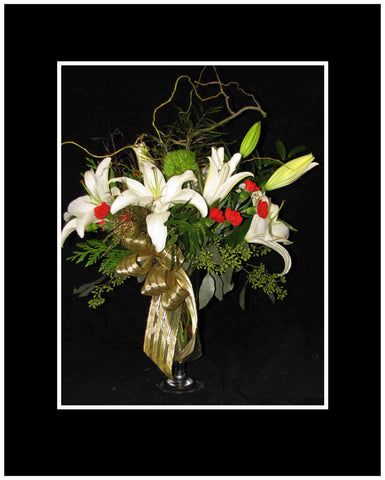 Silent Night Christmas Bouquet