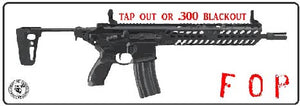 .300 Blackout Sticker