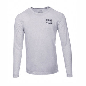 Modern Vintage Long Sleeve - Heather White