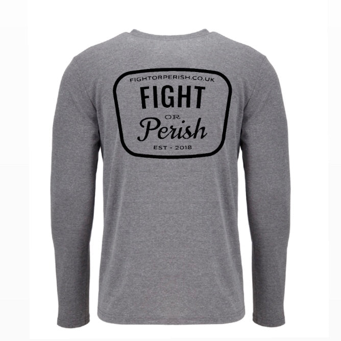 Modern Vintage Long Sleeve - Grey