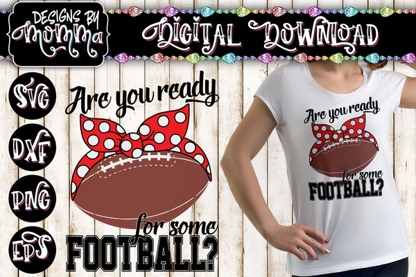 Are you ready for some football? Headband SVG DXF EPS PNG