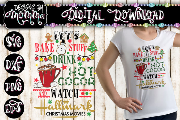 Bake Stuff Movies SVG Plus PNG