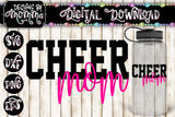 Cheer Mom SVG DXF EPS PNG