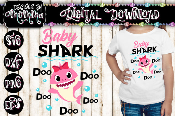 Baby Shark SVG DXF EPS PNG