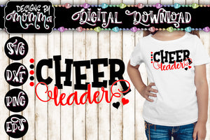 Cheer Leader Dots SVG DXF EPS PNG