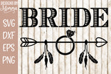 Bride Tribe Arrow Set SVG DXF EPS PNG