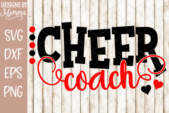 Cheer Coach Dots SVG DXF EPS PNG