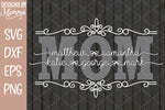 Custom MOM Decorative with childrens names SVG DXF EPS PNG