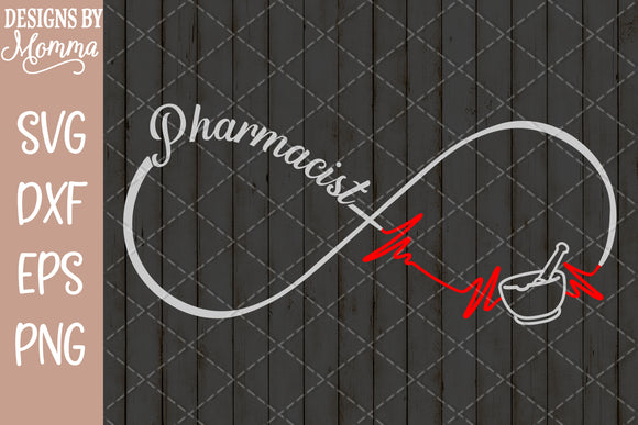 Pharmacist Infinity SVG DXF EPS PNG