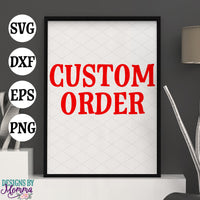 Order for Cynthia SVG DXF EPS PNG