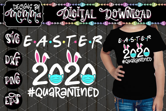 Easter 2020 Bunny Ears SVG DXF EPS PNG
