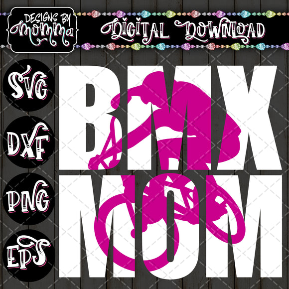 BMX Mom Bike SVG DXF EPS PNG
