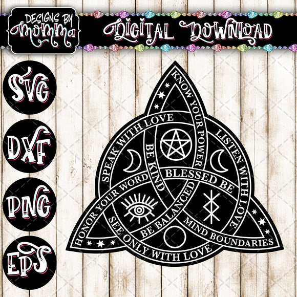 Triquetra SVG DXF EPS PNG