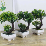Arching Bonsai Tree Artificial Simulated Fake Plants Greenery Shrubs by Arcane Trail