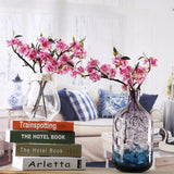 Artificial Cherry Blossom Flower Tree Branches Fake Simulated Plants Bouquet Arrangement by Arcane Trail