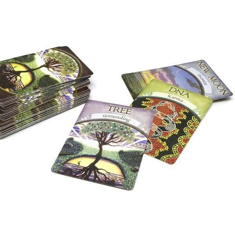 Divine Earth Nature Tree Tarot Card Deck Oracle Cards For Psychic Spiritual Pagan Witches and Witchcraft Divination by Arcane Trail