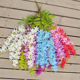 Hanging Wisteria Flowers - 5 Pieces (Any Color) - Plants