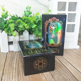 Rainbow Holographic Tarot Card Deck Oracle Cards For Psychic Spiritual Pagan Witches and Witchcraft Divination by Arcane Trail