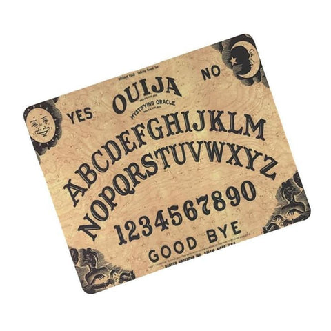 Ouija Board Mousepad Mouse Mat Rubber Slim Creepy Goth Witch Halloween Gothic Witchcraft by Arcane Trail