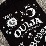 Ouija Board Knee Socks stockings thigh highs tall goth fashion witch wicca witchcraft creepy horror by Arcane Trail