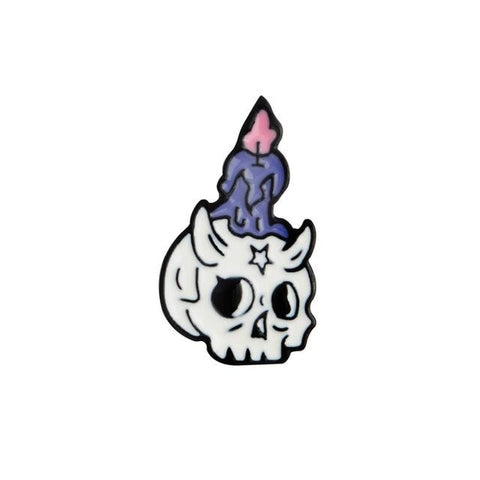 Potion & Skull Pins - Candle - Pin