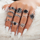 11 Piece Namaste Ring Set