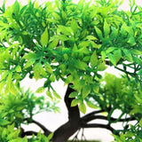 Artificial Bonsai Tree Triple Branches Fake Simulation Plants Small Bird by Arcane Trail