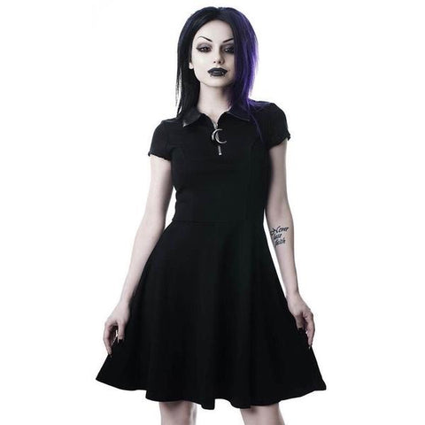 Zip-Up Moon Child Dress