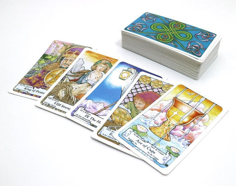 Royal Medieval Tarot Card Deck Oracle Pagan Witchcraft | Arcane Trail