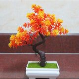Artificial Orange Tall Bonsai Tree Branches Fake Simulation Plants Small by Arcane Trail
