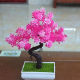 Artificial Pink Tall Bonsai Tree Branches Fake Simulation Plants Small by Arcane Trail