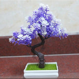 Artificial Purple Tall Bonsai Tree Branches Fake Simulation Plants Small by Arcane Trail