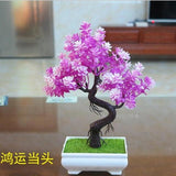 Artificial Violet Tall Bonsai Tree Branches Fake Simulation Plants Small by Arcane Trail