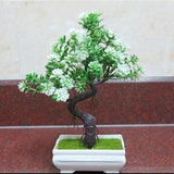 Artificial Green Tall Bonsai Tree Branches Fake Simulation Plants Small by Arcane Trail