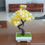 Artificial Yellow Tall Bonsai Tree Branches Fake Simulation Plants Small by Arcane Trail