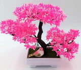 Solid Triple Bonsai - Pink - Plants