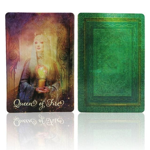 Magick Wizards Tarot Card Deck Oracle Cards For Psychic Spiritual Pagan Witches and Witchcraft Divination by Arcane Trail