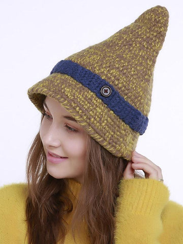 Image of Dooerzi Bohemia Knitting 5 Colors Hat Accessories
