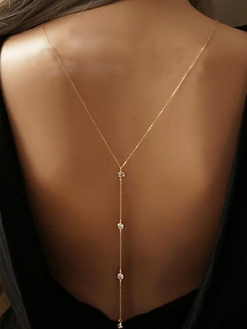 Image of Sexy Bohemia Back Chain Accessories GOLD D0316