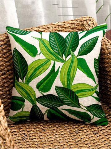 Image of Bohemia Tropical Plant Throw Pillow Case Decoration Accessories 003 FREE SIZE