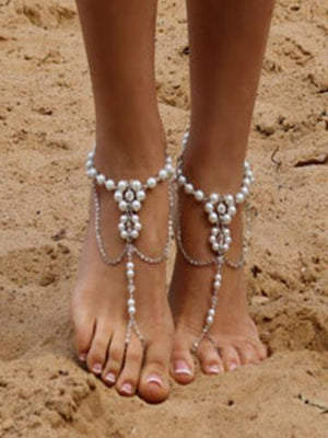 Pretty Bohemia Footchain Accessories A COUPLE SLIVER
