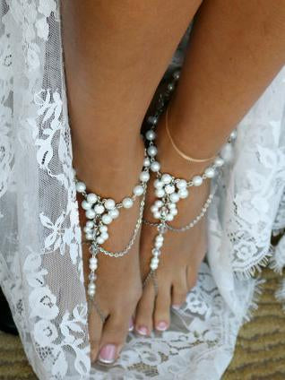 Pretty Bohemia Footchain Accessories A COUPLE GOLD