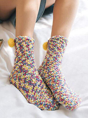 Colorful Cute Socks MULTICOLOR